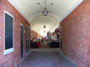 A fair at the Headhouse Market